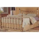 Antique Brass Double Bed Frame